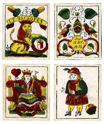 [German deck, 1813]