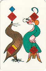[Circus Transformation Playing Card Deck]